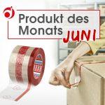 "Produkt des Monats Juni ""tesapack® Fingerlift"""