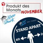 "Produkt des Monats November ""Fußbodenfolie FloorShark """