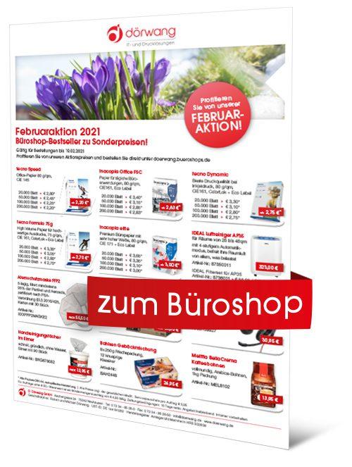 Dörwang - News - Flyer - Februaraktion