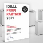 Auszeichnung zum IDEAL Profi Partner 2021