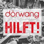 Hochwasser Deutschland – Dörwang hilft!