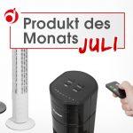 """Produkt des Monats Juli """"Säulenventilator"""""""